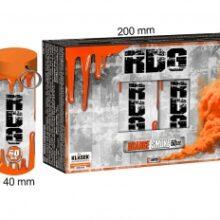 Dymovnica RDG – oranžová, 5 ks
