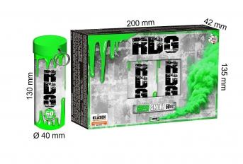 Dymovnica RDG – zelená, 5 ks