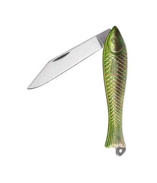 Vreckový zatvárací nôž 130-NZn-1/ZL – Rybička