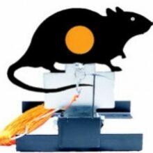 """Terč mechanický preklápací """"GAMO"""" – potkan"""