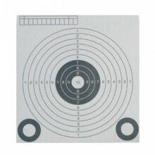 """Terč vzduchovkový papierový """"BW 10m"""" – 13,8×14,5cm"""