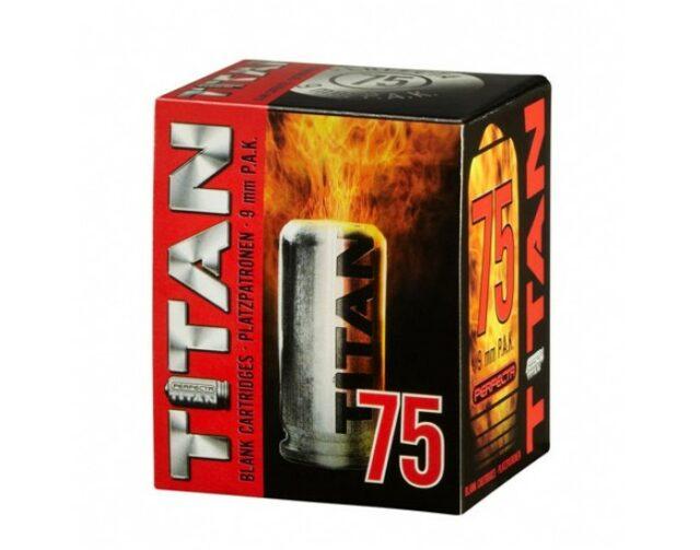 """Náboj pištoľový štartovací """"Perfecta TITAN 75"""" – 9mm PA (75 ks)"""