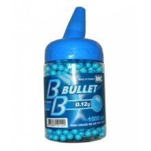 "Airsoftové guličky BBs ""UHC"" 0,12g / 1000ks – modré"