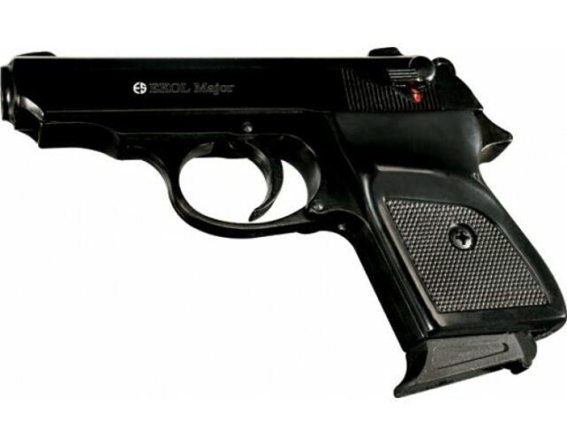 "Pištoľ plynová ""Ekol Major"" 9 mm PA – čierna"