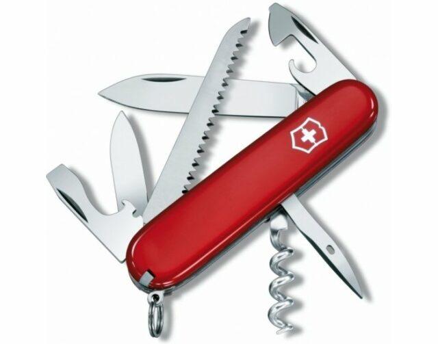 Nôž Victorinox Camper – červený