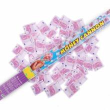 Vystreľovacie konfety 60 cm – EURO BANKOVKY
