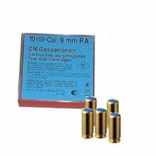 Plynové náboje CN pištoľ Wadie 9 mm, 220 mg, 10ks