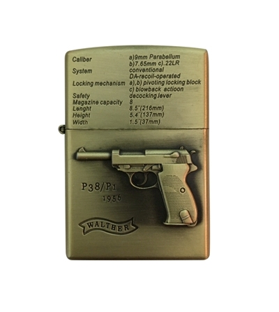 "Zapaľovač Pištoľ ""Walther P38"""