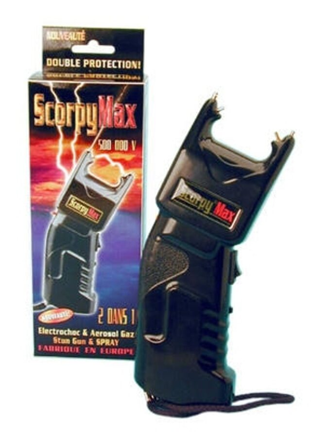 Paralyzér Scorpy Max 500 s OC sprejom