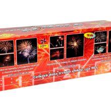 Ohňostrojná zostava Fireworks Rumble 75 rán, kal. 25mm