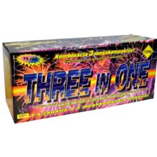 Ohňostrojná zostava Three In One 75 rán, kaliber 30mm