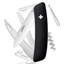 Nôž SWIZA D07 Scissors Black – čierna