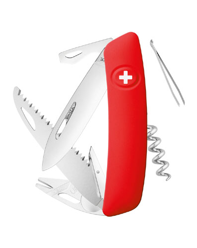 Nôž SWIZA TT05 Tick Tool Red- červená