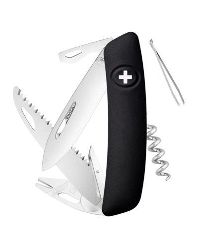 Nôž SWIZA TT05 Tick Tool Black – čierna