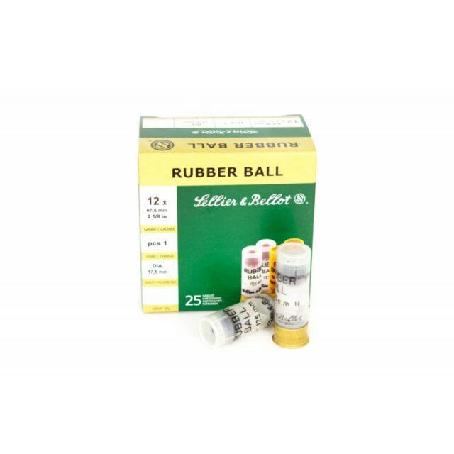 12/67 S&B Rubber Ball 17,5mm