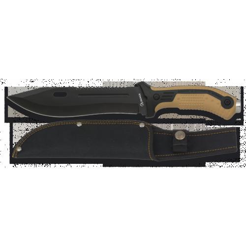 Nôž taktický s pevnou čepeľou ALBAINOX 32113 – coyote
