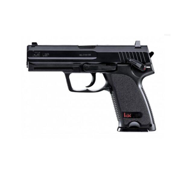"Airsoftová CO2 pištoľ ""Heckler & Koch USP"" BB 6mm"