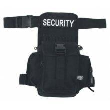"""Taška bedrová """"Security"""" MFH 30704A – čierna"""