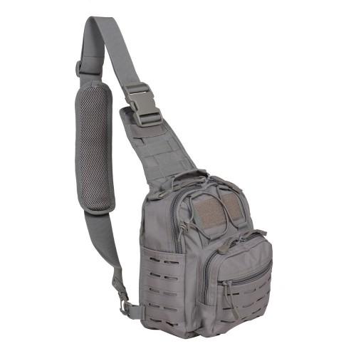 Taška cez rameno GURKHA TACTICAL LC-B55 – grey