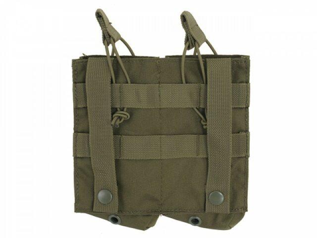 Sumka na 2 zásobníky pre AK 7,62x39mm – olivová